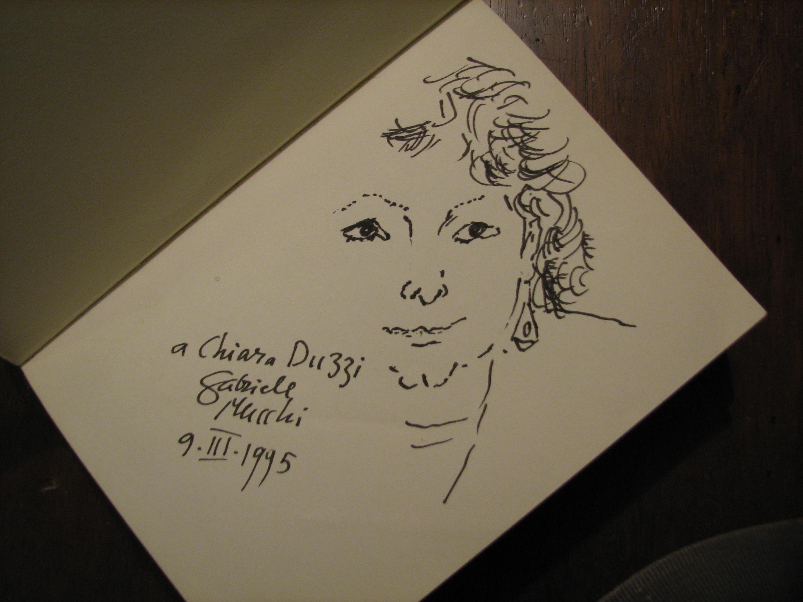 Gabriele Mucchi Ritratto di Chiara Duzzi