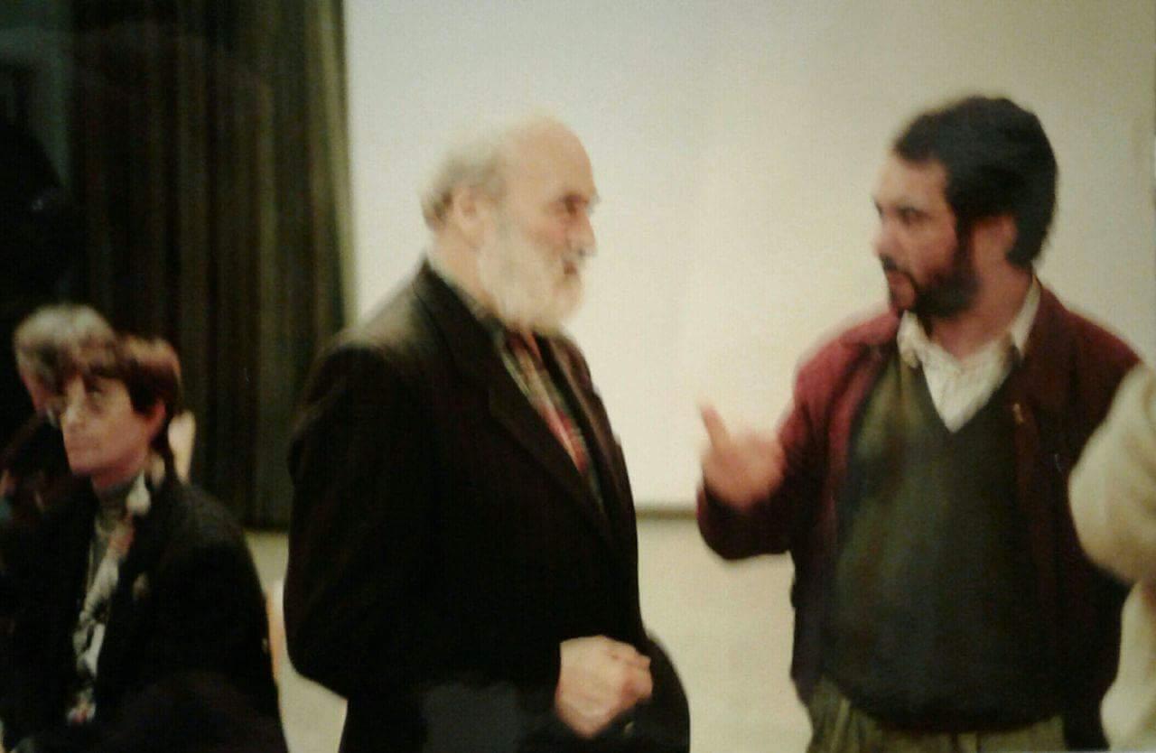 Mazzotta con Melotto anni 90