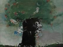 chat-albero-2017-olio-tecnica-mista_res