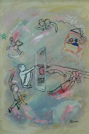 chat-fantasy-locandina-2017-olio-tecnica-mista_res